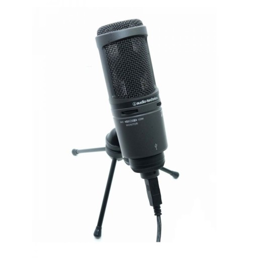 Audio-Technica AT2020 USB PLUS Cardioid Condenser USB Microphone