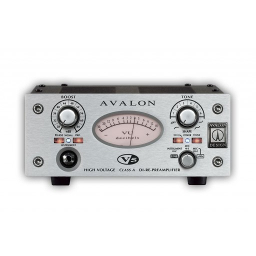 AVALON V5 MIC PREAMP / DI