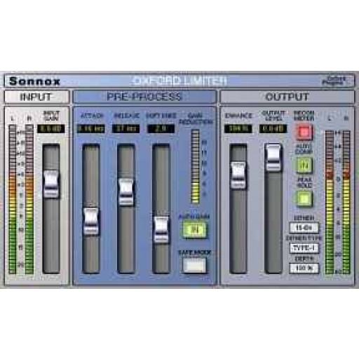 SONNOX LIMITER Native Plug-in
