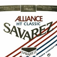 Savarez ALLIANCE/HT CLASSIC ROUGE/BLEU–Klasik Gitar Teli-Normal/Yüksek Tan.