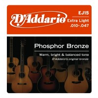 D'addario EJ15 Extra Light